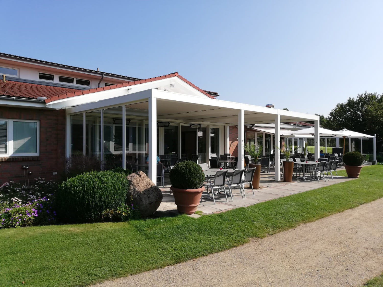 Golf Club Escheburg Terrasse